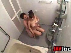 Prostitute Fucking In A Bathroom