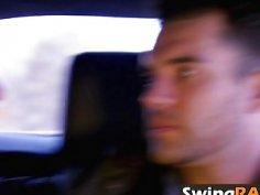 Massive swingers orgy in a kinky reality show