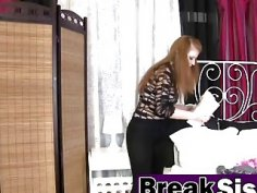 Rough fucking with a slutty stepsister and angry stepbrother