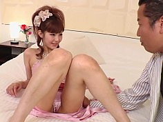 Cabaret hostess fingered and teased with a toy