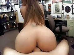 Pretty hot babes getting fucked up by a huge cock