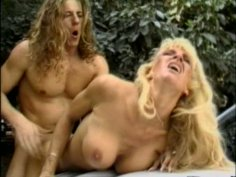 Brutal long haired dude fucks Morgan LeFay on a hood