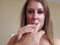 Brooke Bliss movie and fuck marathon with dad