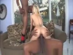 Blonde Slut With Big Tits Double Penetrated By Two Huge