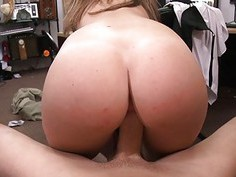 Tight amateur brunette babe nailed by pawn dude